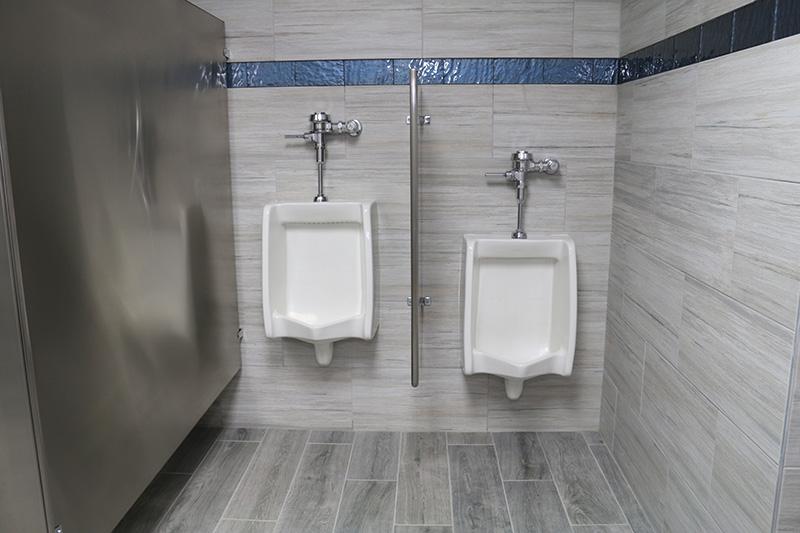 Marina Facilities: Men's Restroom