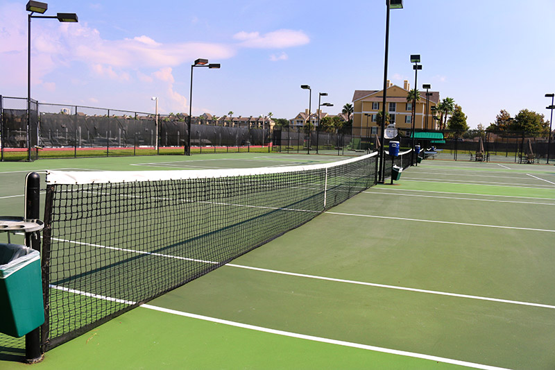 Fitness Center: Tennis Courts